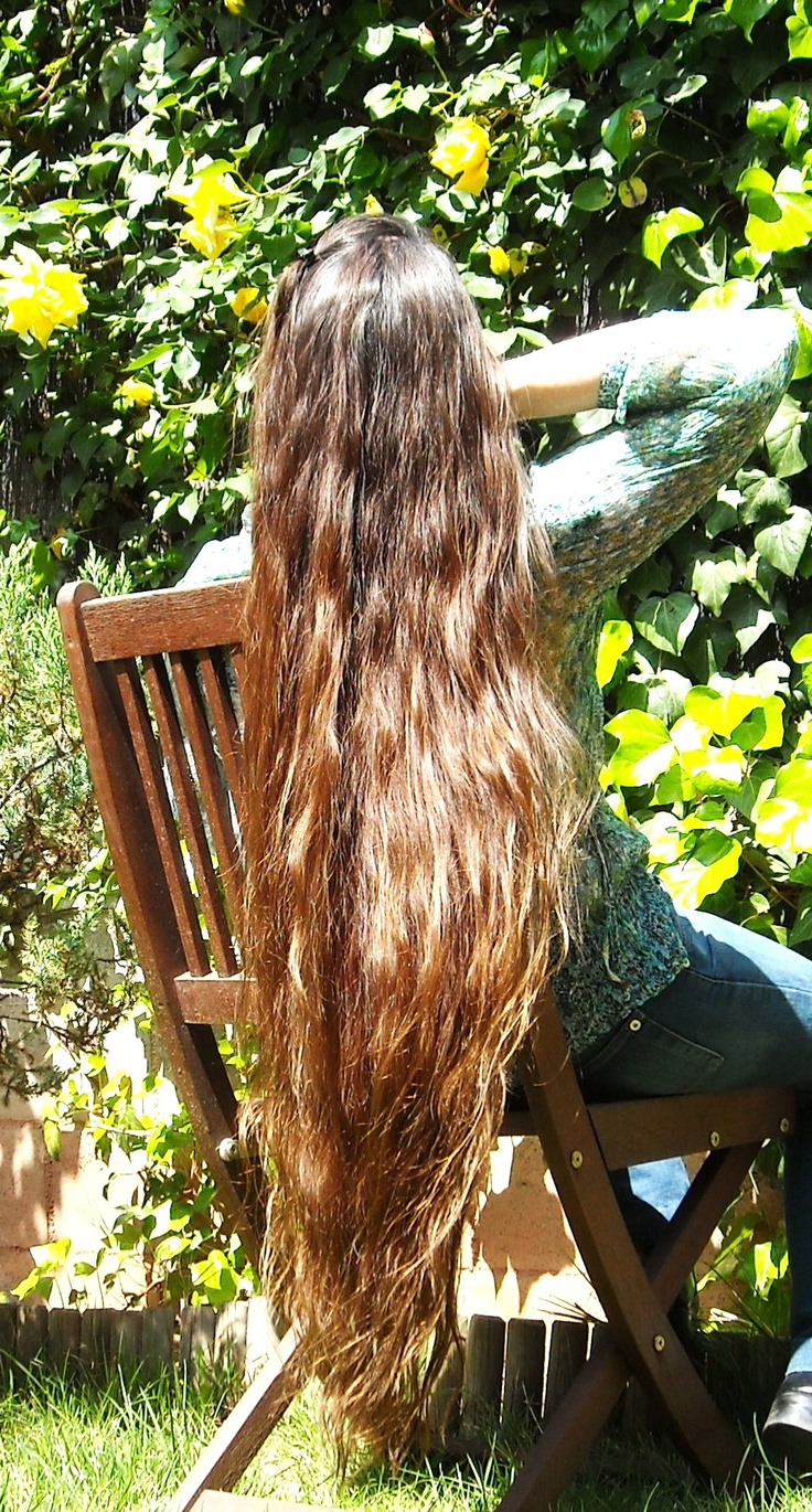 My hair, 2009.  It was around mid-thigh back then.    Extra long hair.