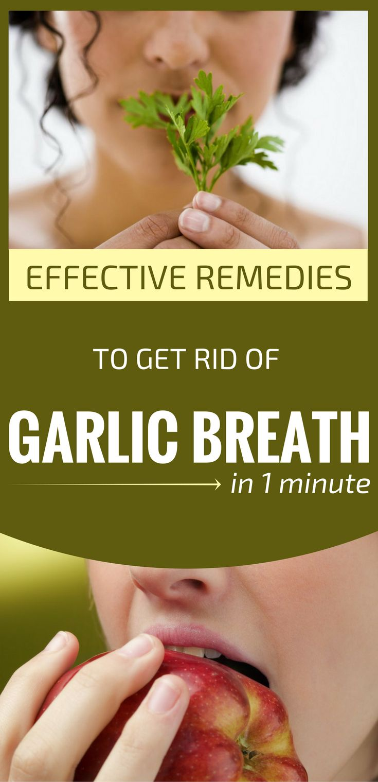 You had dinner with your lover and you've eaten garlic? You don't know what to do because the smell and taste persists in your mouth? Well, don't panic, because you still can kiss your lover if you use the following natural remedies to get rid of garlic breath. The explanation for this garlic breath is ...
