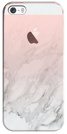 Casetify iPhone SE Classic Snap Case - MARBLE GRADIENT | WHITE #3 by LeeAnn Visser #Casetify