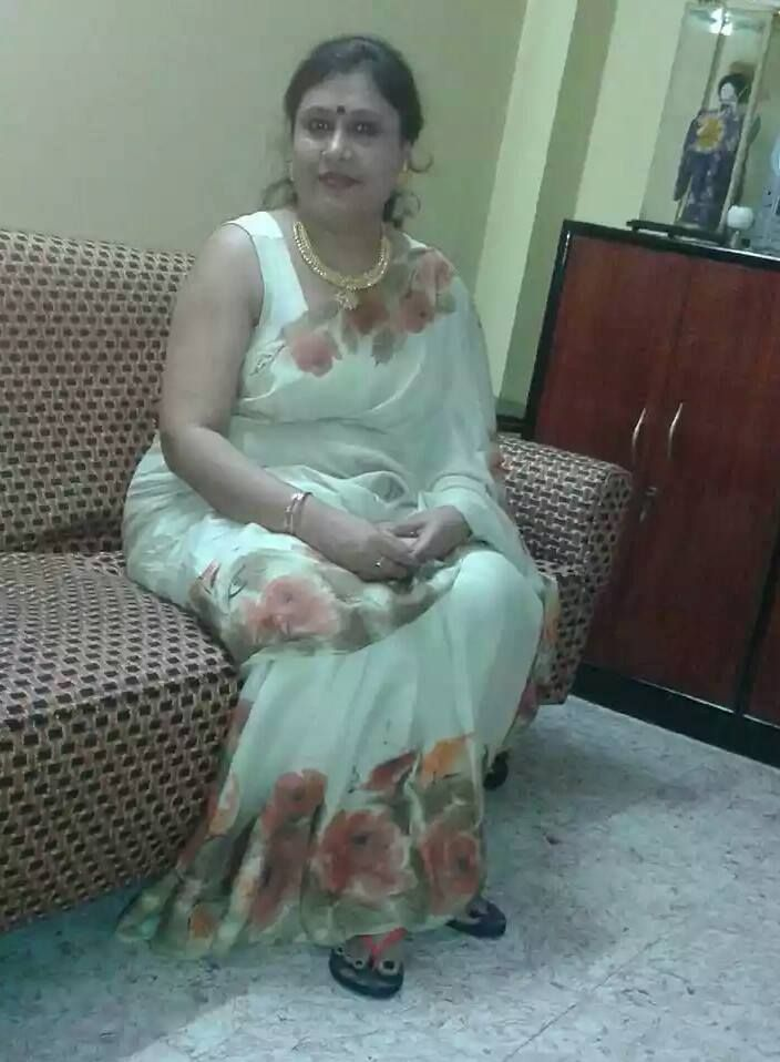 Indian aged aunty