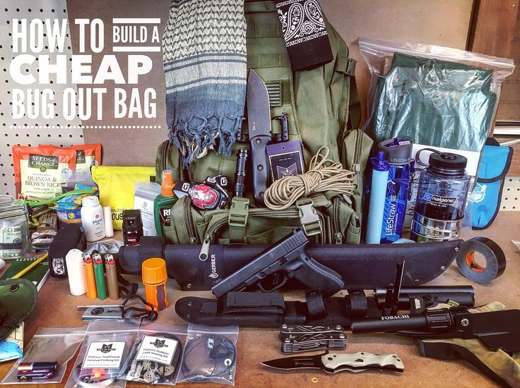 How to build a cheap bug out bag!  #bugoutbag #prepper #shtf #bugout