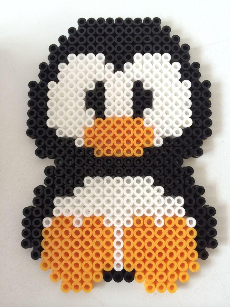 Penguin hama perler beads by Louise Nielsen