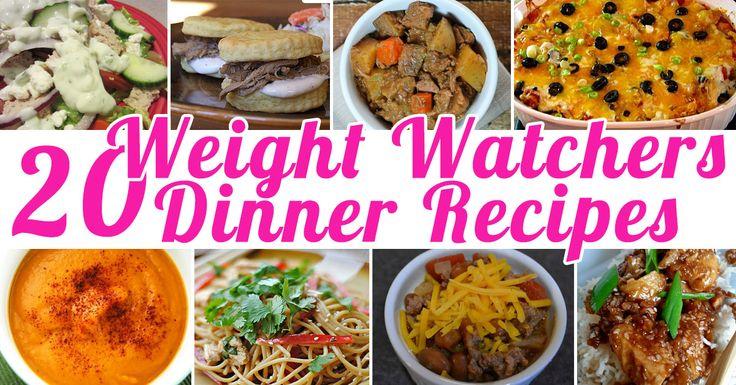 20 Weight Watchers Dinner Recipes