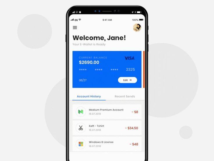 E Wallet App App Development Companies Mobile Payment App App Development