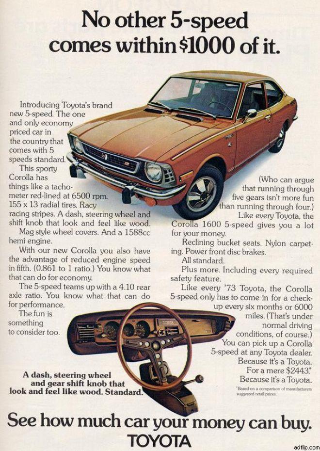 Toyota (1973) coroll