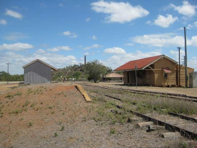 Chillagoe railway station in North Queensland, Australia. Image taken in 2010.