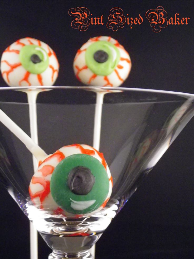 Pint Sized Baker: Halloween Eyeball Cake Pops