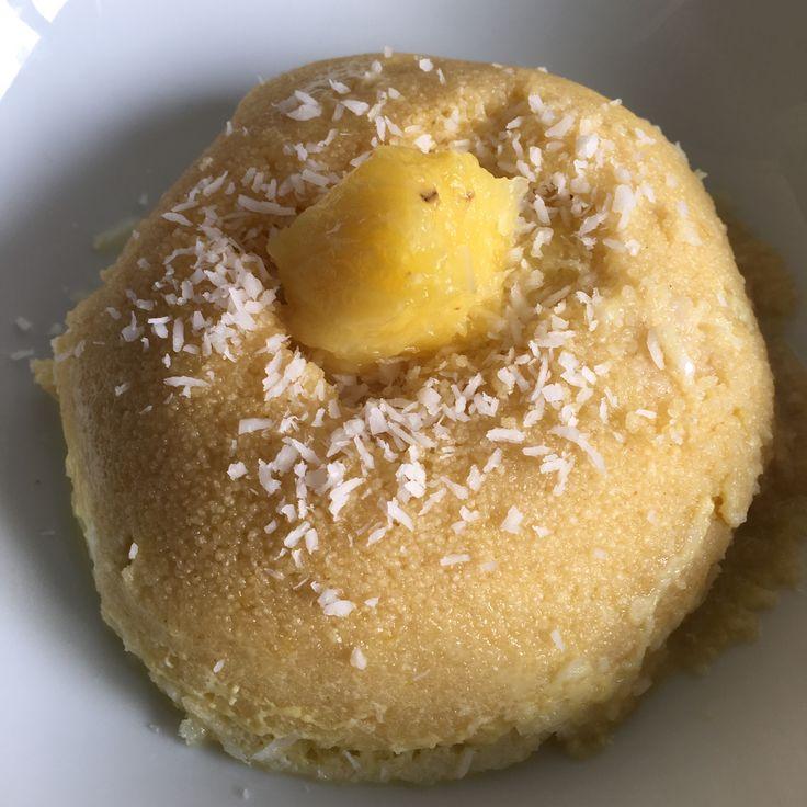 Bowlcake semoule ananas/coco