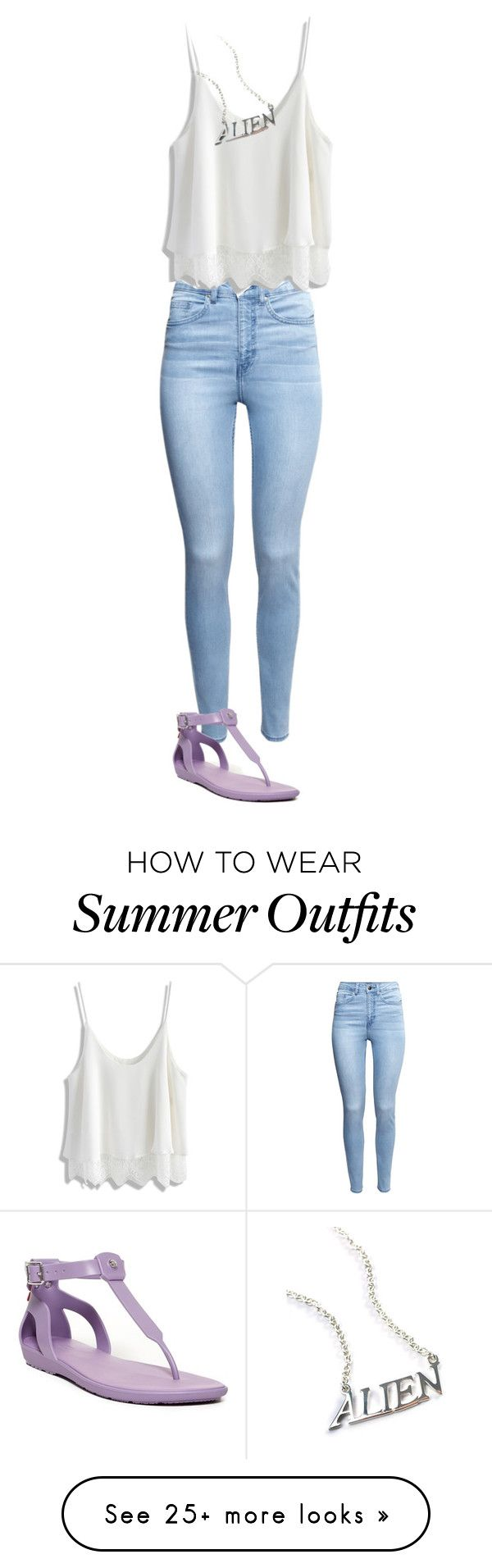 """Summer of 2016-outfit 32"" by umanamelb on Polyvore featuring H&M, Hunter…"