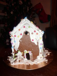 Syntages...apo spiti: Χιονισμένο Gingerbread