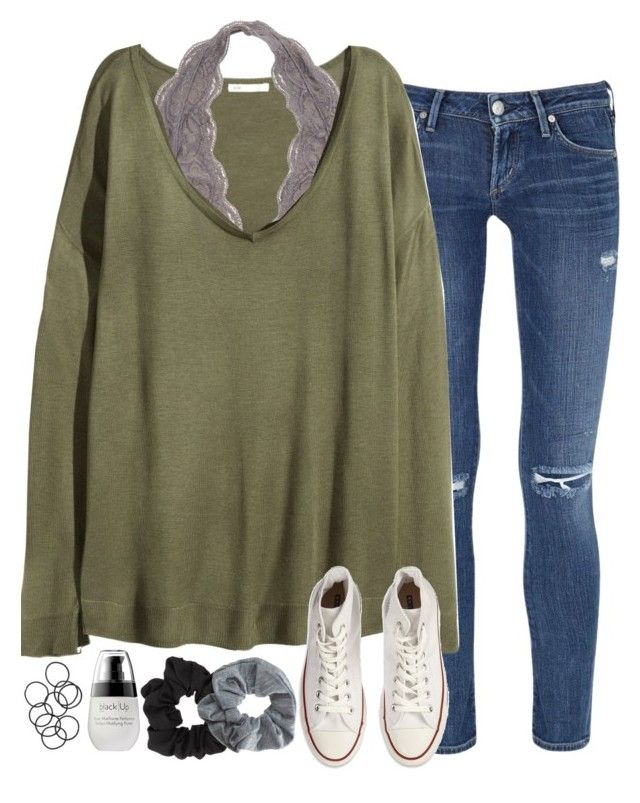 school... ugh by sarahc01 on Polyvore featuring H&M, Citizens of Humanity, Converse, Topshop and Miss Selfridge