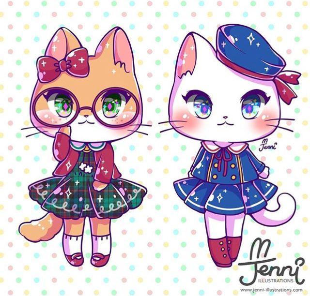 By Jenniillustrations On Instagram Cute Animal Drawings Cute
