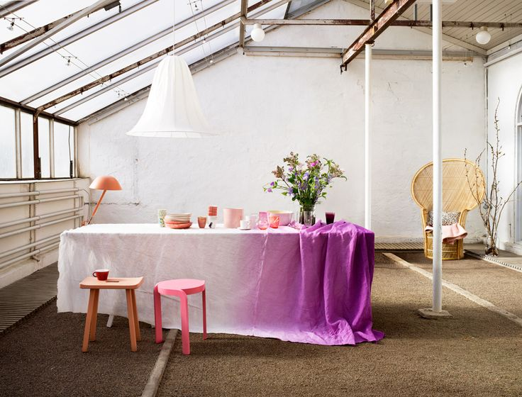 Idha Lindhag - Photographer: Tables Clothing, Decor, Ideas, Dips Dyed, Style, Dips Dyes, Ties Dyes, Diy, Ombre Tablecloths