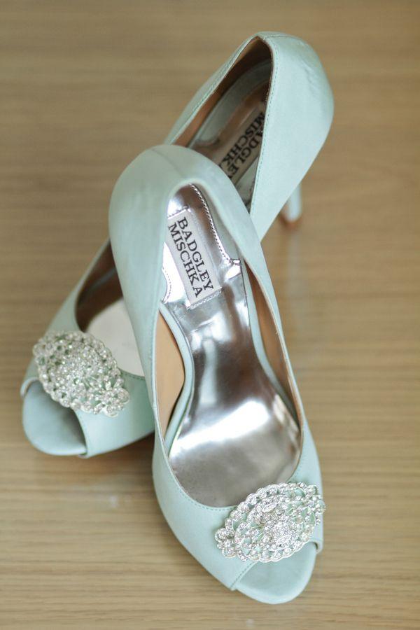 Light Blue Badgley Mischka Shoes