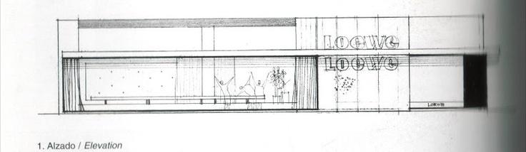 Revisión Interior: Mirando Atras - Tienda Loewe - Javier Carvajal