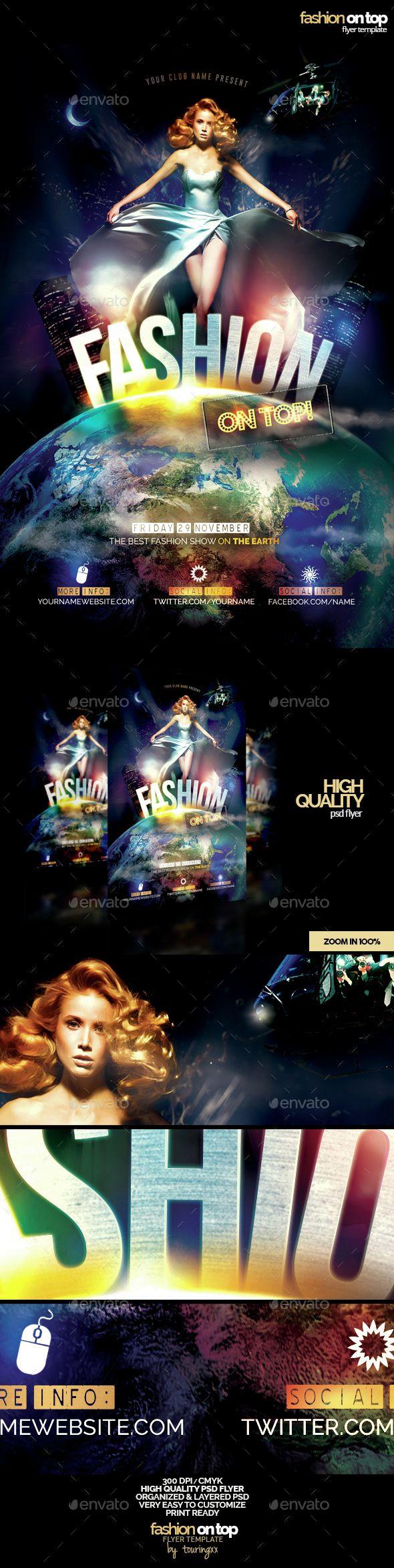 62 best fashion flyers images on pinterest flyer template font