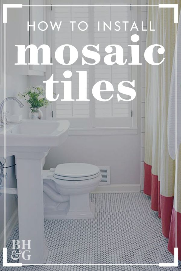 How To Install Mosaic Tile Mosaic Tiles Tiles How To Lay Tile