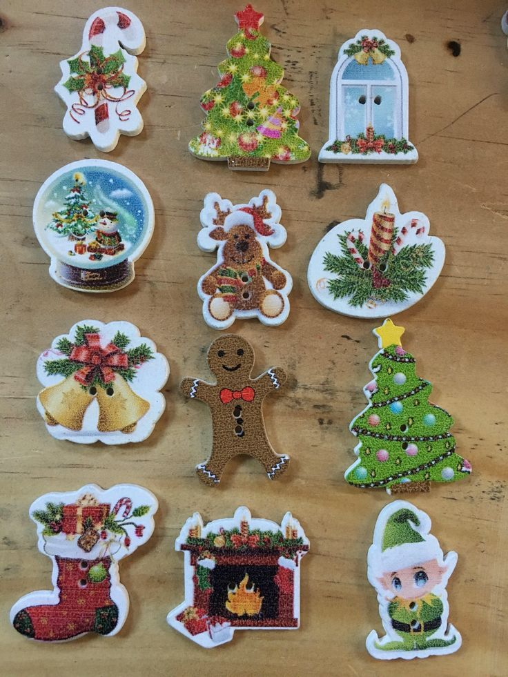 A personal favourite from my Etsy shop https://www.etsy.com/au/listing/553892157/christmas-buttons-mixed-lot-of-10