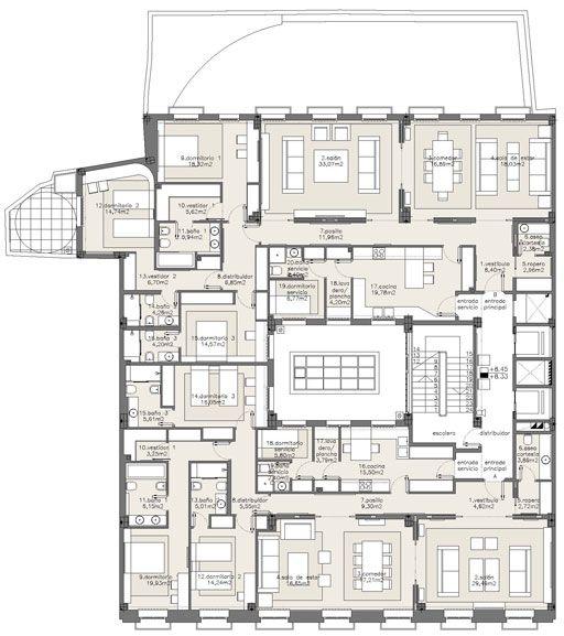 Modern Apartment Design Plans Apartment Building Design ...