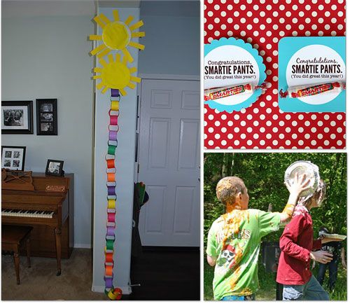 A Sunny Summer Count Down – A darling and easy count down calendar using paper plates and colored paper.
