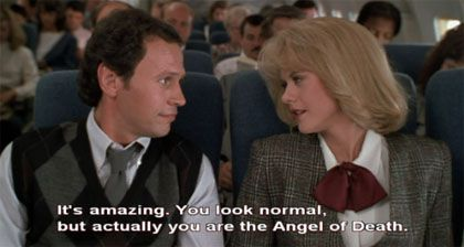 It's amazing . . . | Billy Crystal & Meg Ryan as Harry Burns & Sally Albright in When Harry Met Sally (1989)