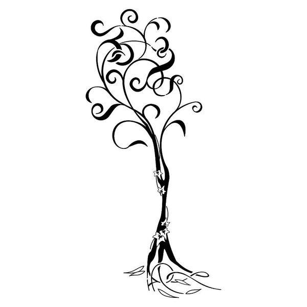 Family tree tattoo inked-art