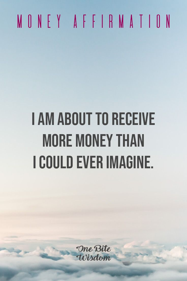 Daily Money Affirmation To Attract Abundance