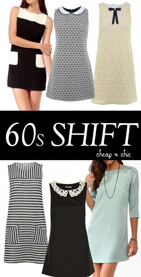 1960s shift dresses - high street Cheap dresses