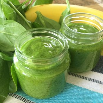 Stage-1-baby-Food-- I enhoy her green smoothies so I hope baby will like her food recipes.