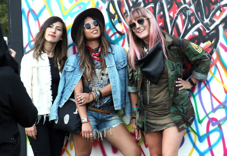 Street style + festival style | The Governors Ball Music Festival in NYC [Photo: Lexie Moreland]