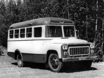 ПАЗ-671 Опытный '07.1960