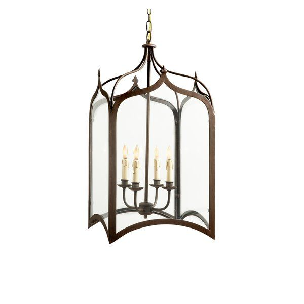 You'll love the Chesterfield 4-Light Outdoor Hanging Lantern at Wayfair - Great Deals on all Lighting products with Free Shipping on most stuff, even the big stuff.