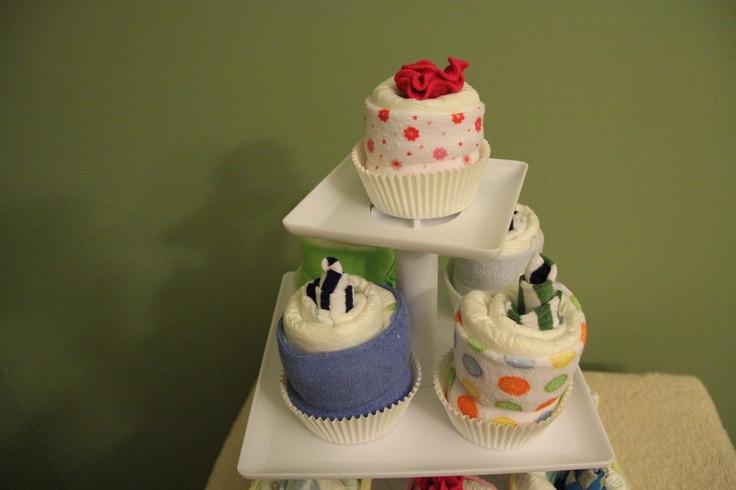 Diaper Cup Cakes 1