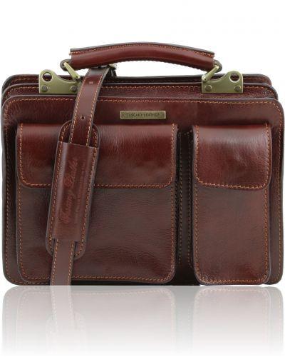 TANIA TL141270 Leather lady handbag - Borsa a mano in pelle da donna
