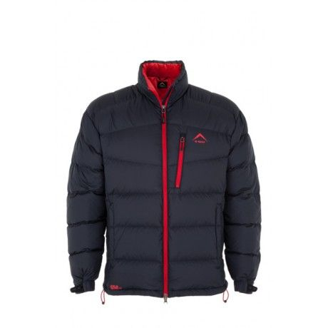 K-Way's Ortler is a nylon and polyester jacket with a white goose down filling and water-resistant coating. The shell is 100% windproof and vapour permeable, while the down has superior insulating properties and helps to minimise odours caused by perspiration. The jacket features an adjustable hem and cuffs and several pockets.