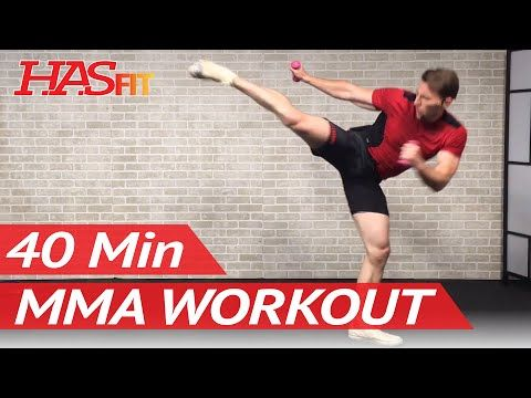 40 Min MMA Workout Routine - MMA Training Exercises UFC Workout BJJ MMA Workouts Mixed Martial Arts - YouTube