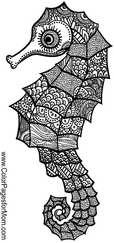334 best Under the Sea Coloring Pages for Adults images on
