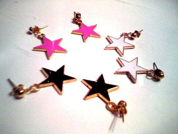 50% ff / Star earrings / 2.50 dollars  was by KaterinakiJewelry