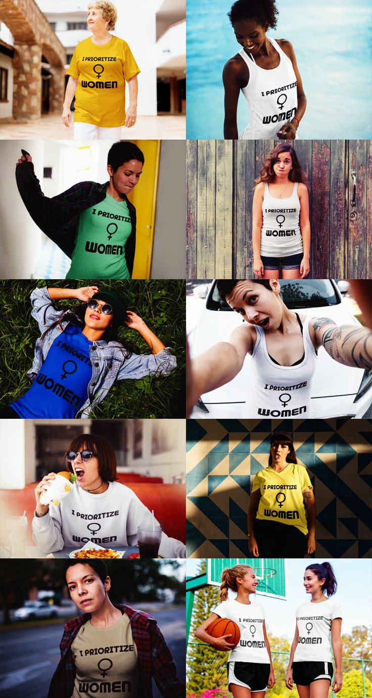 Are women (including yourself) are your priority? ♀️ With these awesome t-shirts and tank tops you can show it off! :) #feminist #feminism #radfem https://blibli.cupsell.com/k/i-prioritize-women