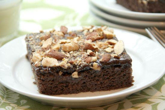 Chocolate sheet cake recipes with cinnamon