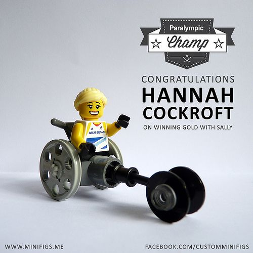 Hannah Cockroft, wheelchair racer, Great Britain  London 2012 Paralympic Games
