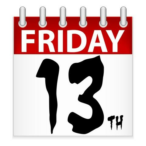 13 best friday 13th images on pinterest happy friday the 13th rh pinterest com friday the 13th clipart free Friday the 13th Invitations