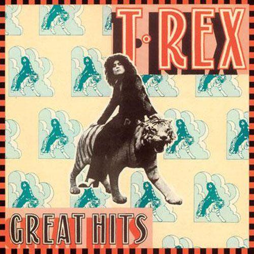 グラムロック☆T-REXのレトロでおしゃれなレコードの画像
