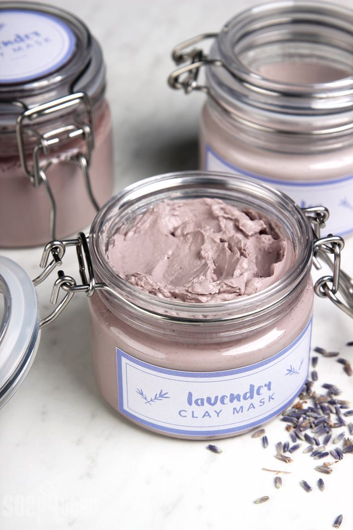 DIY Lavender Clay Face Mask