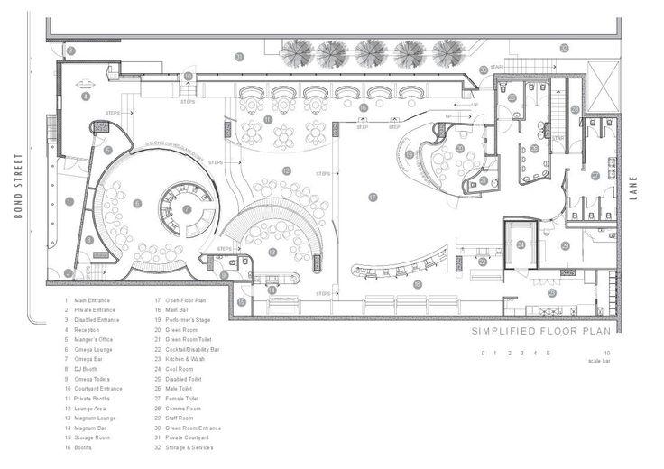 Image 16 of 20 from gallery of Bond Bar / HACHEM. Floor Plan