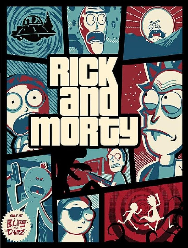 Rick and Morty • GTA