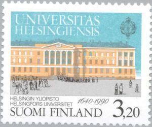 University building, coat of arms