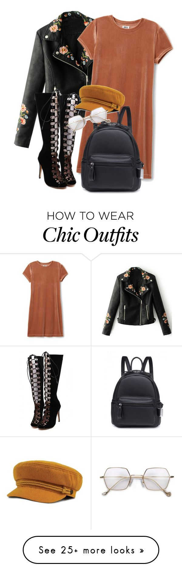 """""""*"""" by bekahxjayne on Polyvore featuring WithChic"""