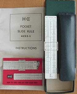 Pocket slide rules