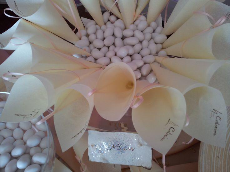 Personalized Cones... Info@ferraliweddingplanner.com